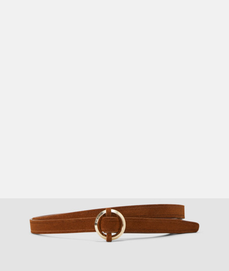 Suede belt from liebeskind