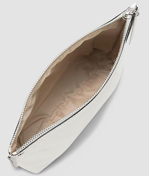 Kosmetiktasche mit Statement-Zipper