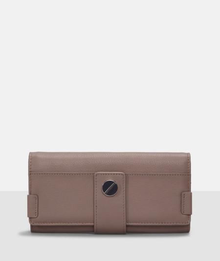 Portemonnaie mit Druckknopfverschluss