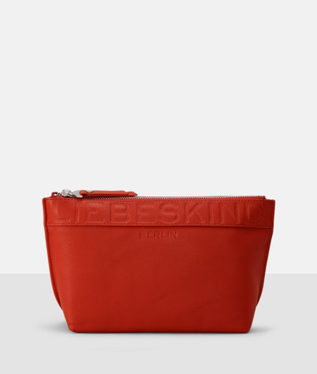 Smooth leather make-up bag from liebeskind
