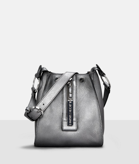 Small shoulder bag with a front zip from liebeskind