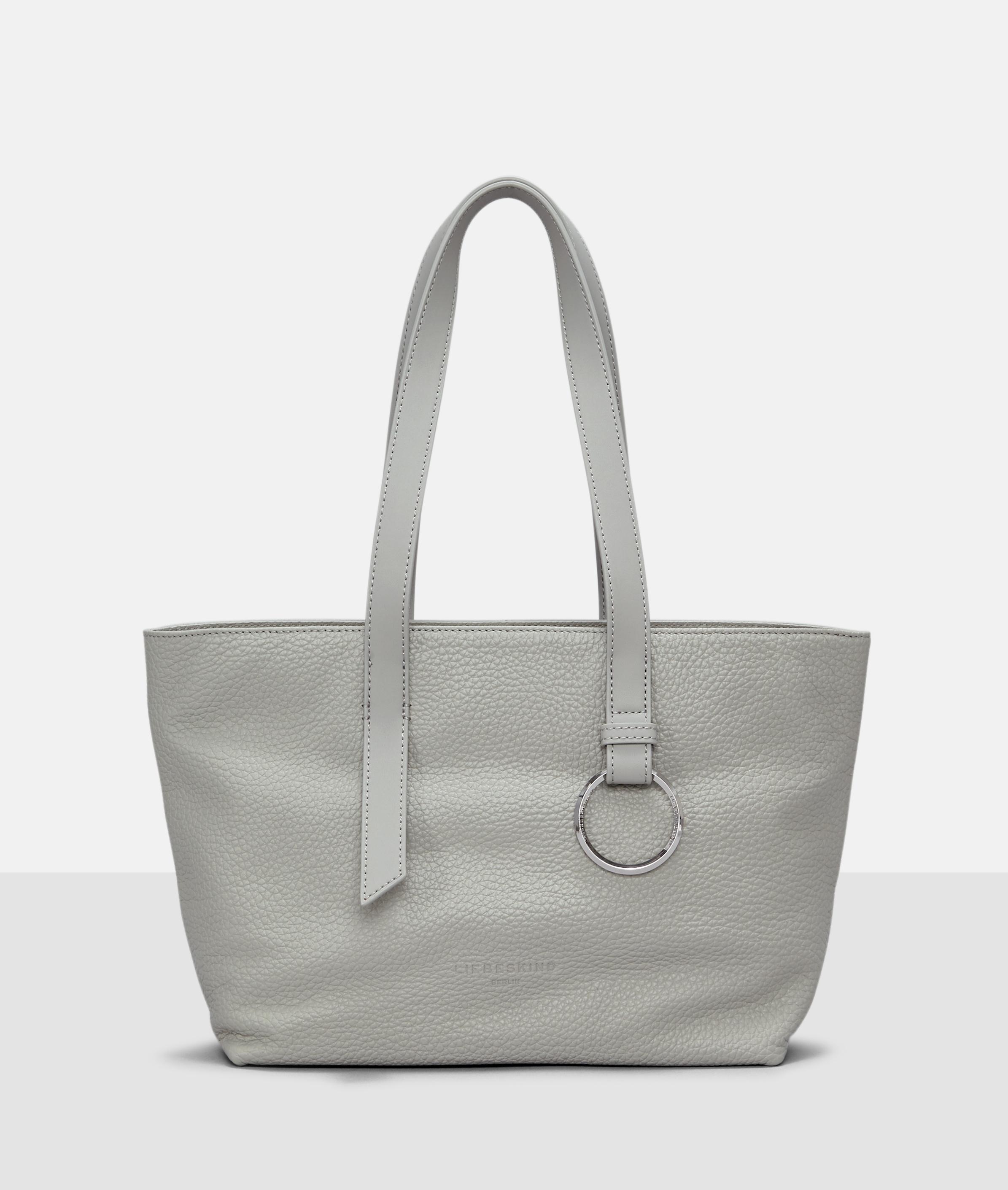 Berlin Tasche Millennium Shopper M, Grau/Schwarz