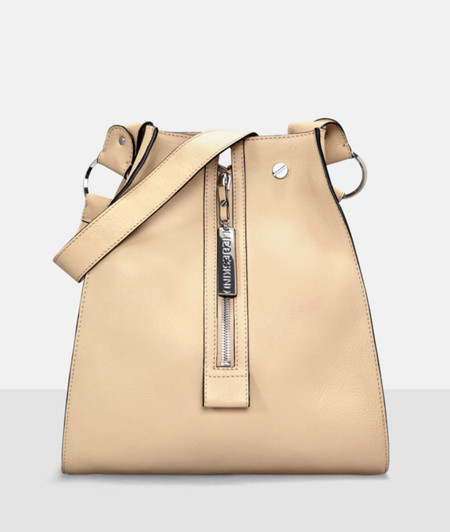 Shoulder bag with front zips from liebeskind