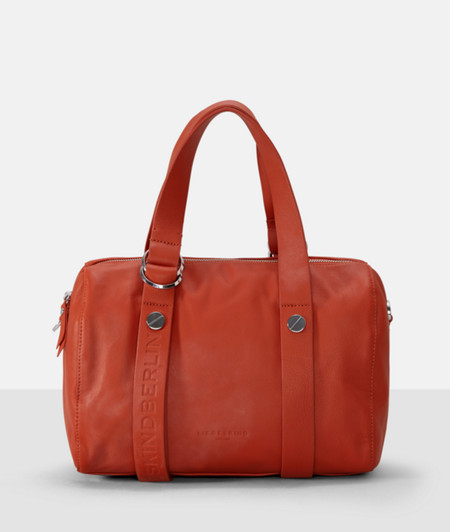 Embossed bowling bag from liebeskind