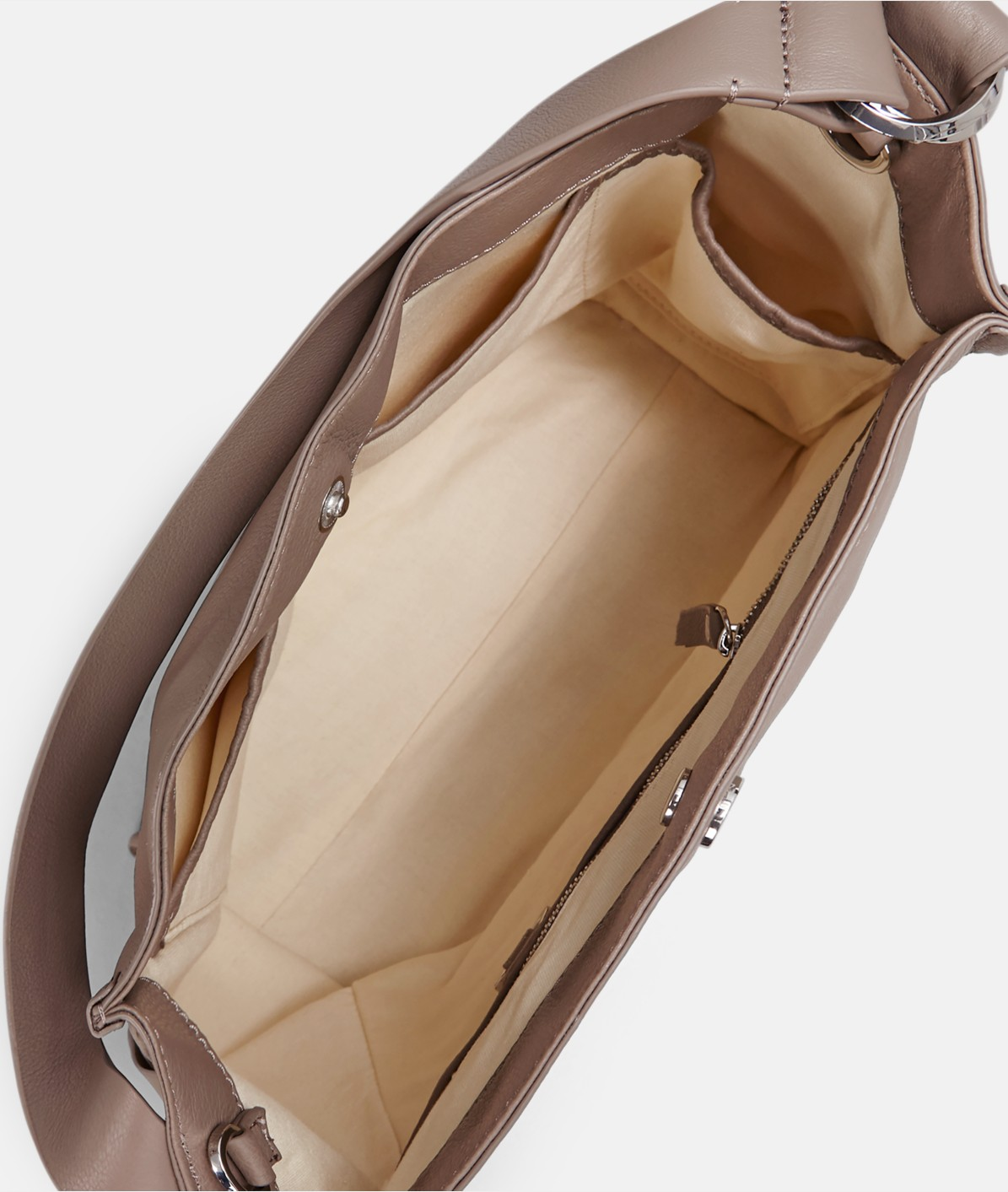 Handbag with ring elements from liebeskind