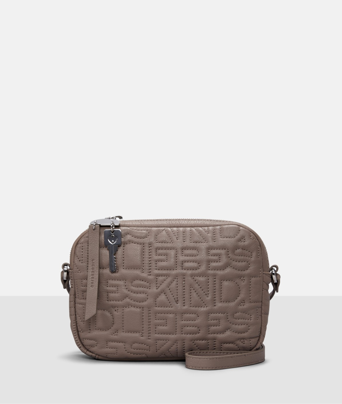 Shoulder bag with appliqués from liebeskind