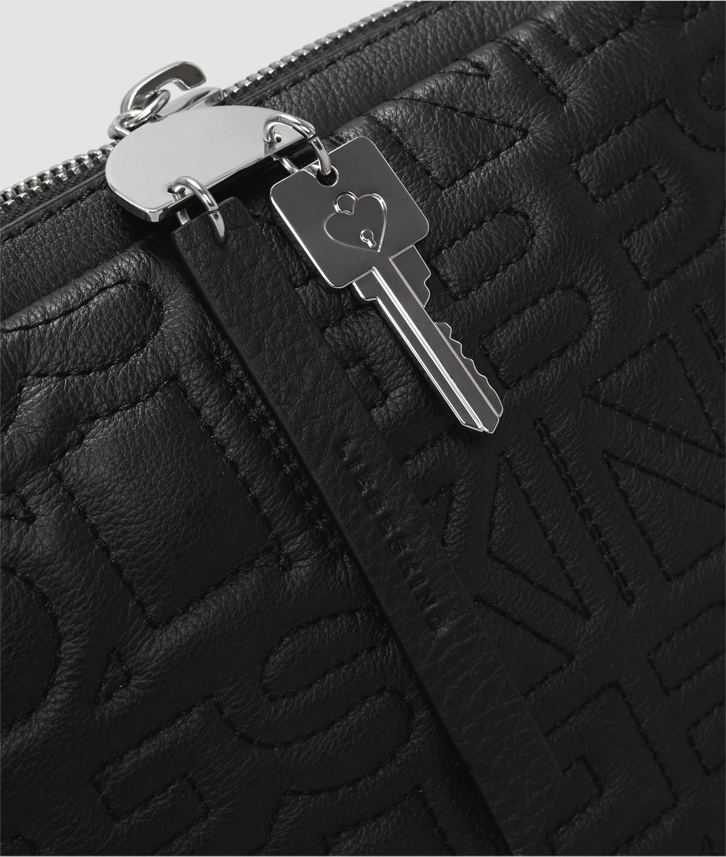 Shoulder bag with appliqués from liebeskind
