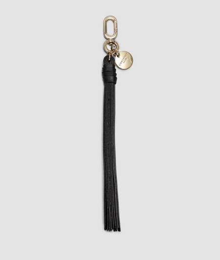 Keyring with a tassel from liebeskind