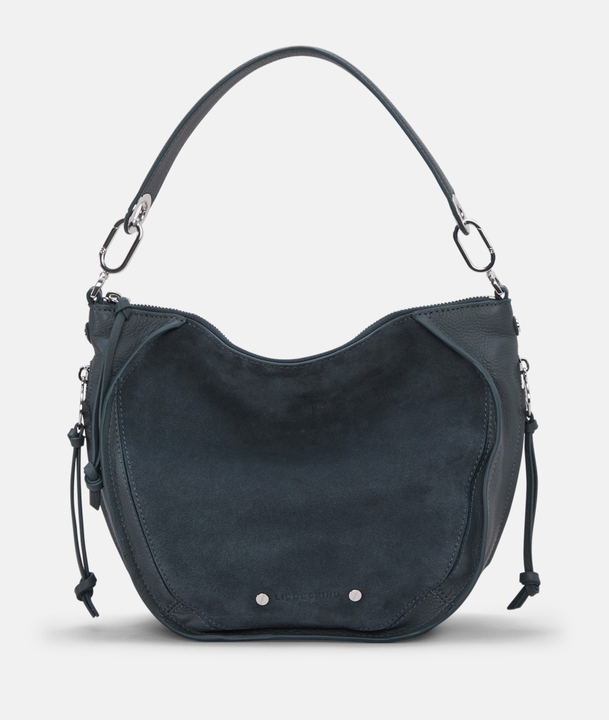 Shoulder bag in mixed leathers from liebeskind
