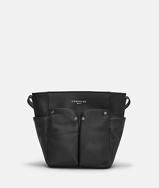 Shoulder bag with patch pockets on the outside from liebeskind