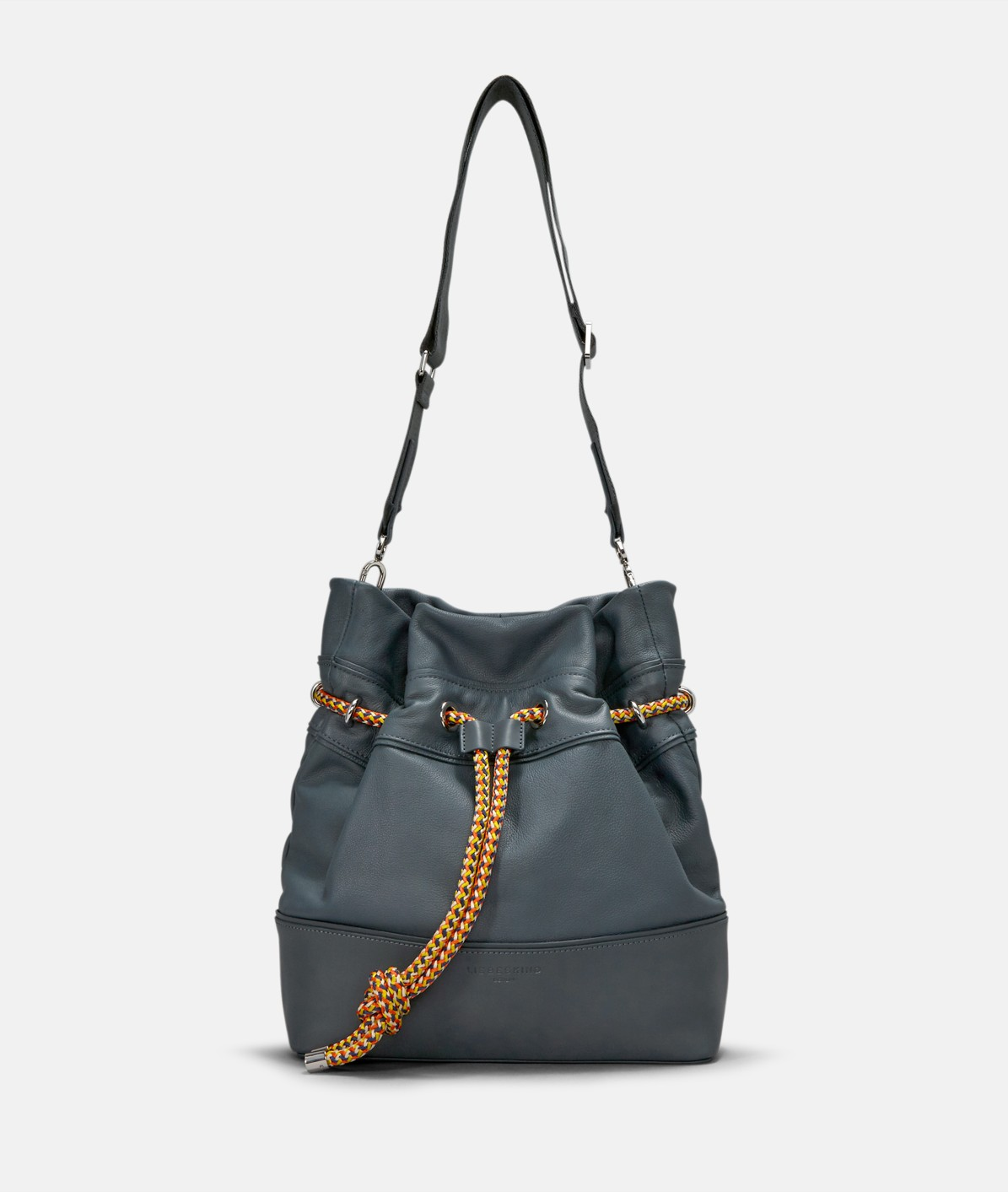 Hobo bag with a nylon cord drawstring from liebeskind
