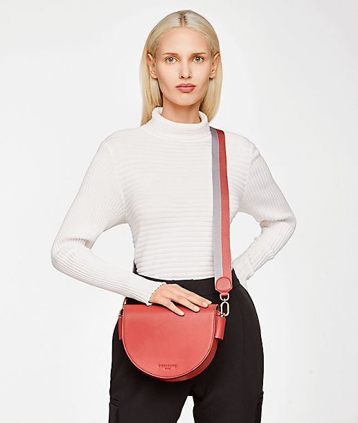 Shoulder bag with a magnetic clasp from liebeskind