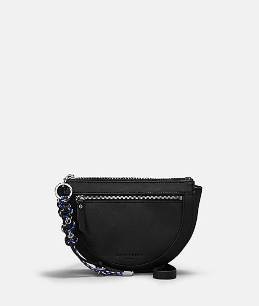Shoulder bag with scoubidou pendant from liebeskind