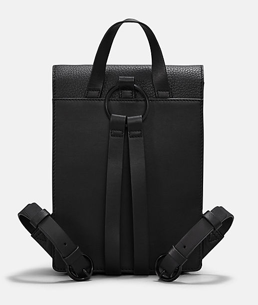 Backpack with press studs from liebeskind