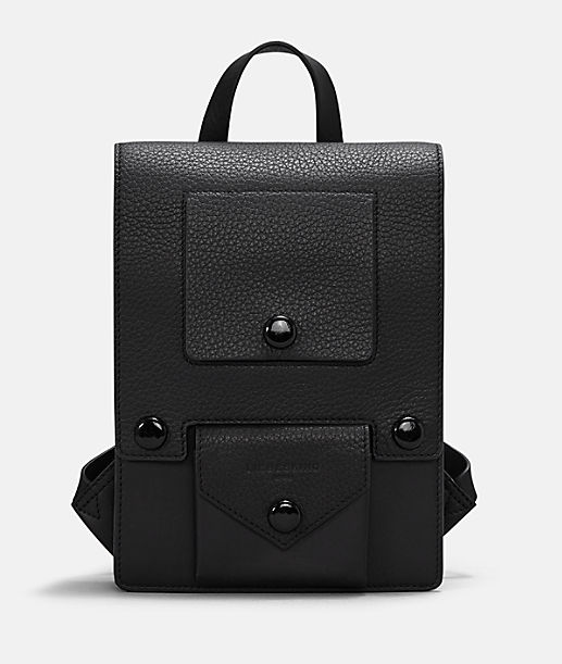 f2b9cd362b85f ... Backpack with press studs from liebeskind ...