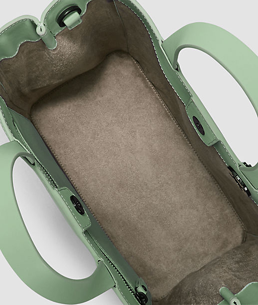 Tragetasche aus Glattleder
