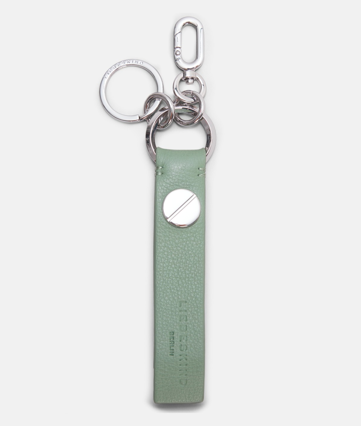 Key ring with a leather fob from liebeskind