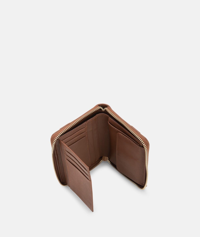 Geldbörse mit aufgesetztem Kontrastband