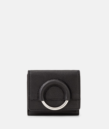 Purse with a large metal ring from liebeskind