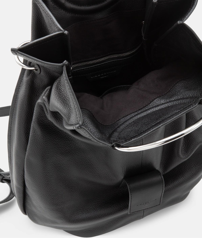 Foldover-Rucksack mit großen Metallringen