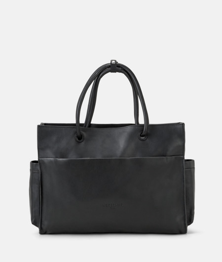 Shopper made of lamb leather from liebeskind