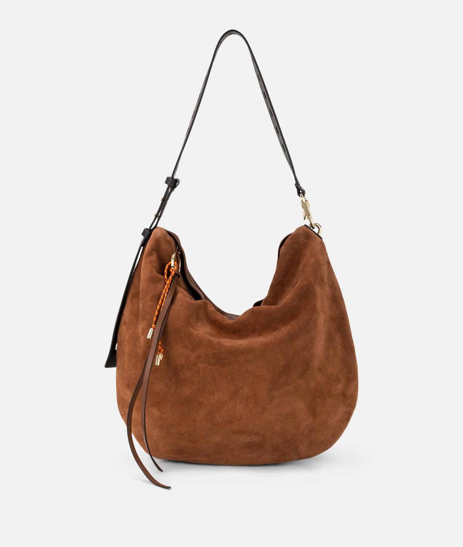 Hobo Bag aus Suede