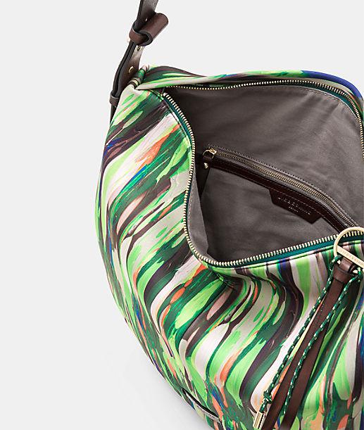 Hobo Bag aus bedrucktem Neopren