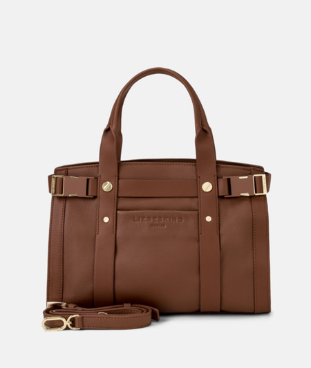 Satchel with click buckles from liebeskind