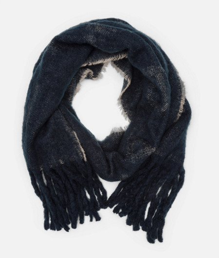 Wool scarf with logo lettering from liebeskind