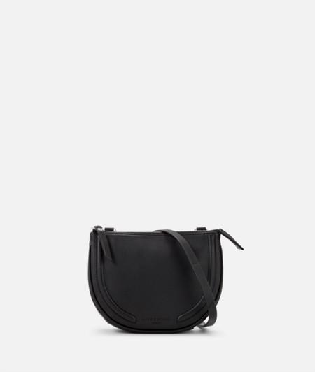 Saddle-shaped shoulder bag from liebeskind