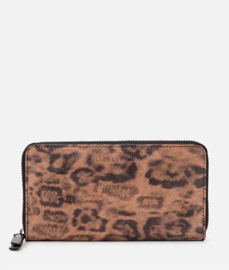 Purse with a leopard print from liebeskind