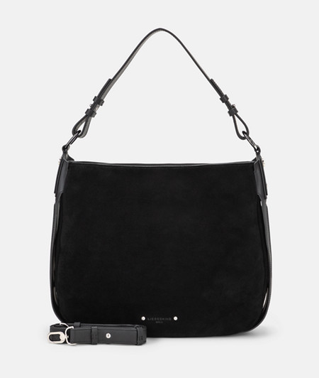 Hobo Bag mit seitlichen Rippen