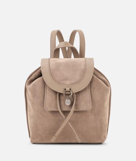 Rucksack mit breiter Paspel