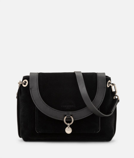 Shoulder bag with wide piping from liebeskind