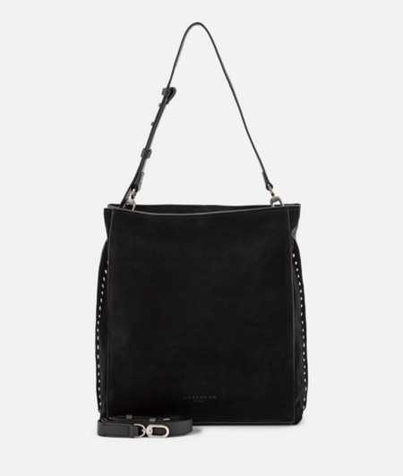 Hobo bag with studs from liebeskind