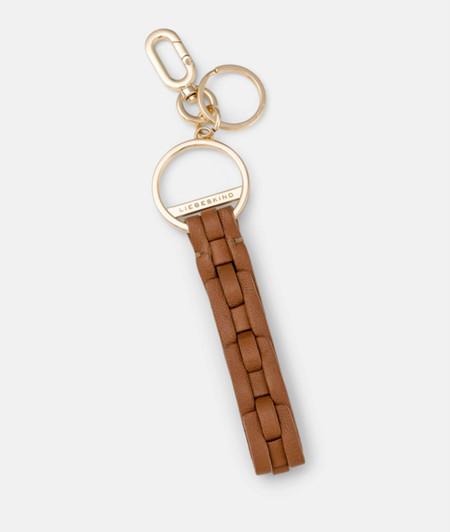 Schlüsselanhänger in Flechtoptik