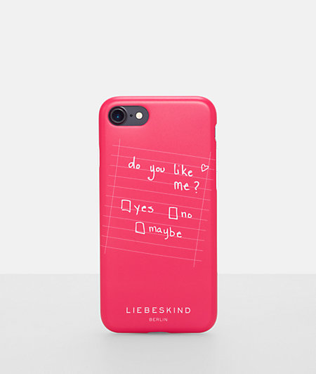 Mobile phone case with printed lettering from liebeskind