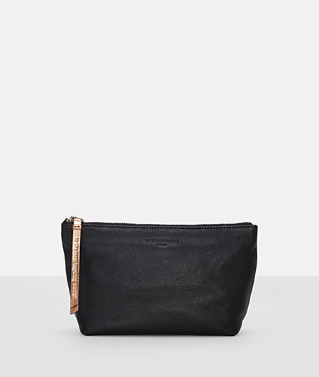 Make-up bag with a slit pocket from liebeskind