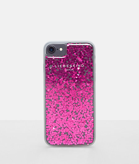 Mobile phone case with shimmering details from liebeskind