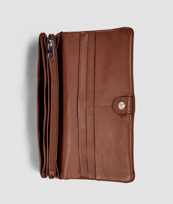 Geldbörse mit Überschlag
