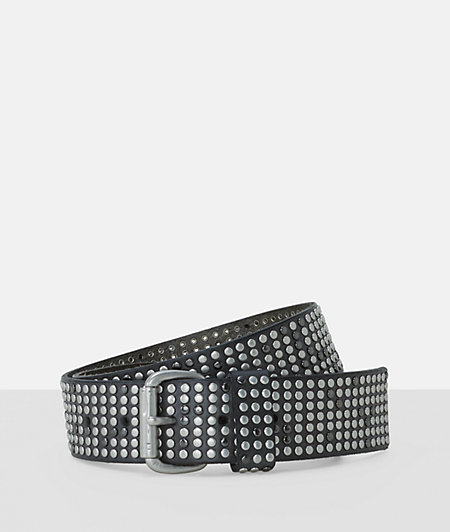 Belt with two-tone studs from liebeskind
