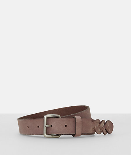 Belt with a braided detail from liebeskind