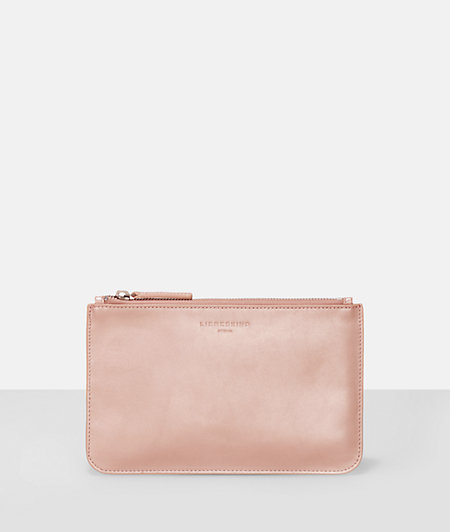 Make-up bag with a metallic effect from liebeskind