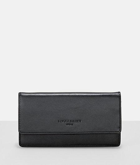Portemonnaie mit Metalliceffekt