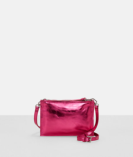 Clutch with a metallic finish from liebeskind