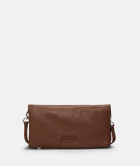 Folded clutch in soft leather from liebeskind