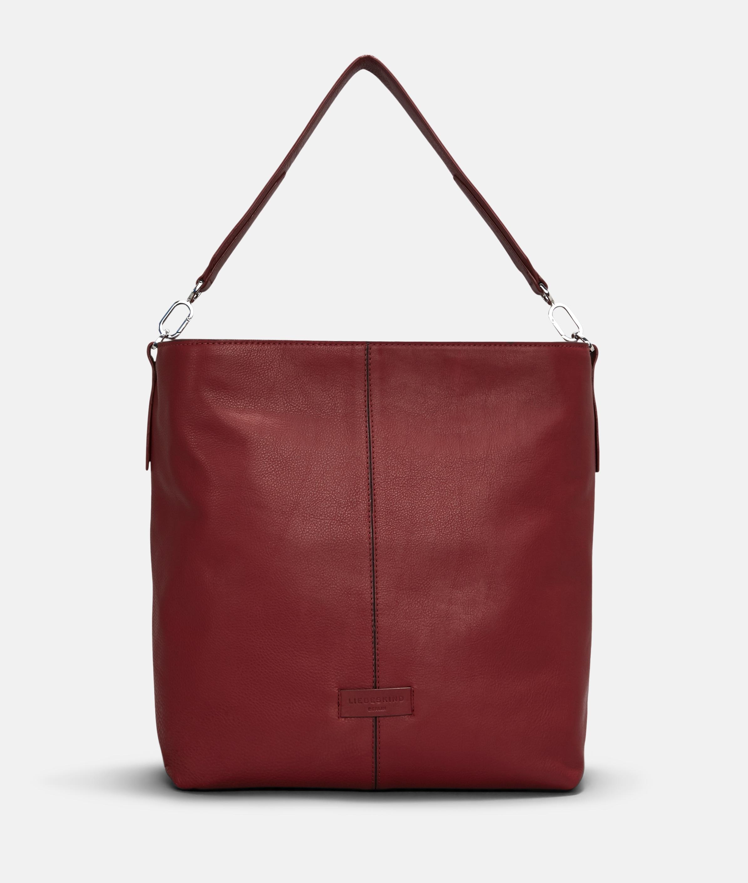 Berlin Tasche Essential Hobo M, Rot