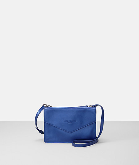 Shoulder bag with a metallic effect from liebeskind