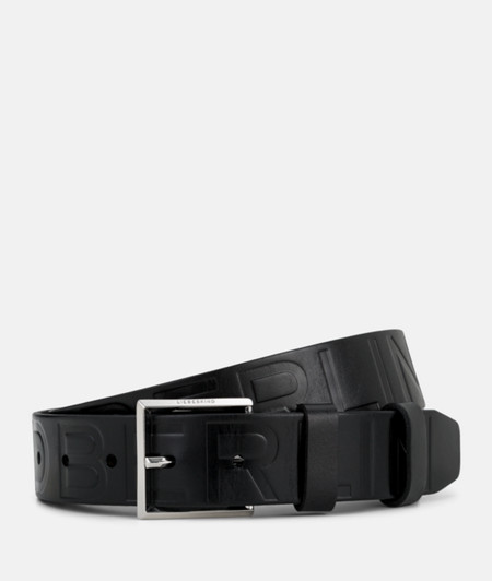 Belt with an embossed logo from liebeskind