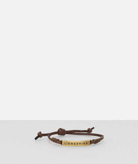 Leather bracelet from liebeskind